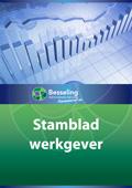 2013 stamblad werkgever