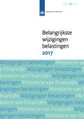 Belangrijkste wijzigingen belastingen 2017